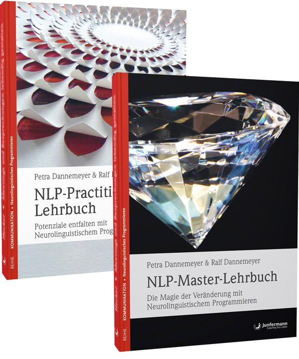 Buchbundle: NLP-Master-Lehrbuch + NLP-Practitioner-Lehrbuch
